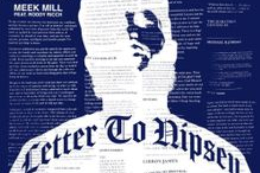 "Meek Mill Teams With Roddy Ricch For ""Letter To Nipsey"" Tribute Song"